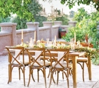 Event rents farm table