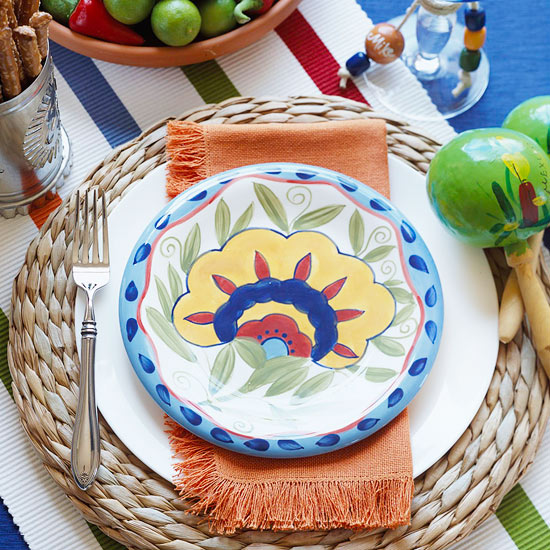 Mexican Place Setting