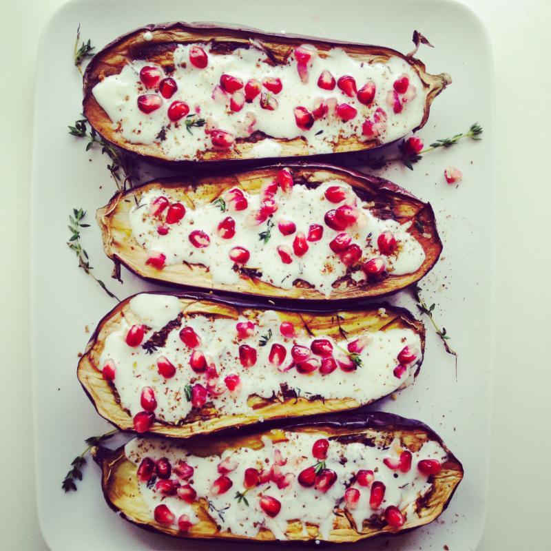 Eggplant Pom