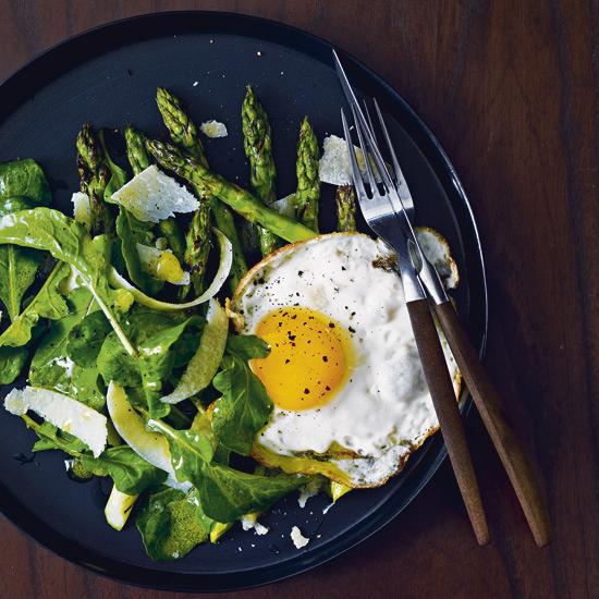 Greens & egg