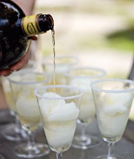 Tequila Lime Sorbet