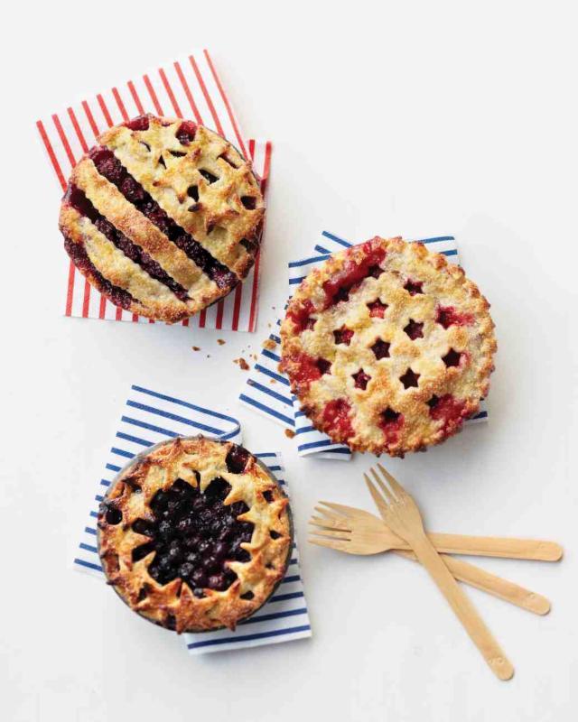 4th of July Mini pies