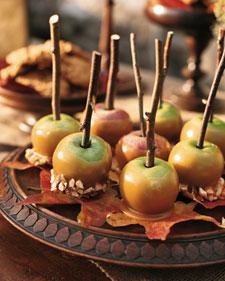 Mini candy apples