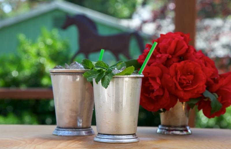 Mint Juleps and Roses