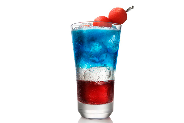 Red, White and booze