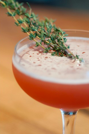 Fall Cocktail w Thyme