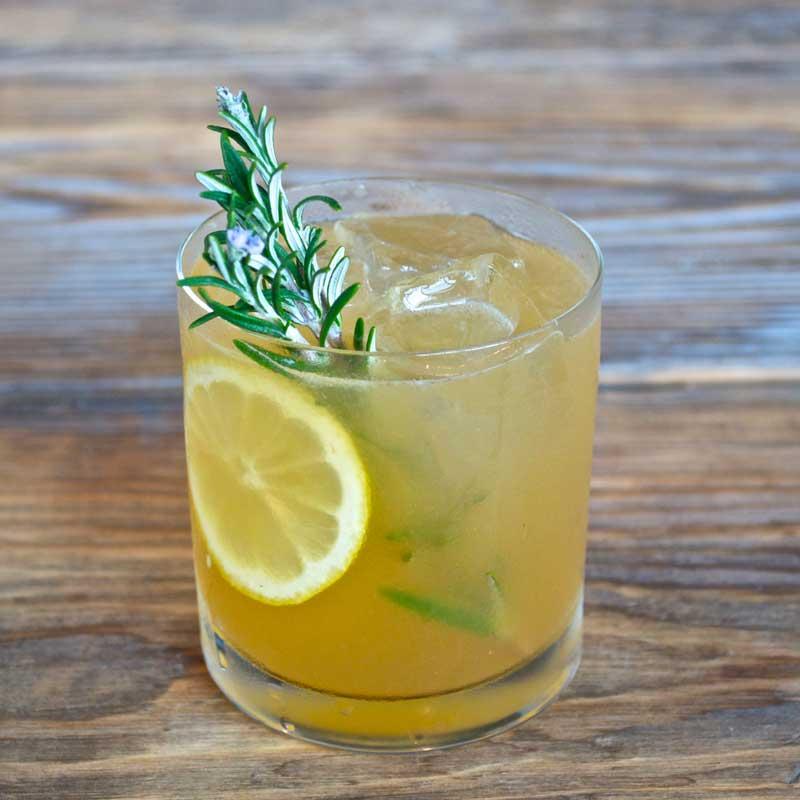 Rosemary bourbon