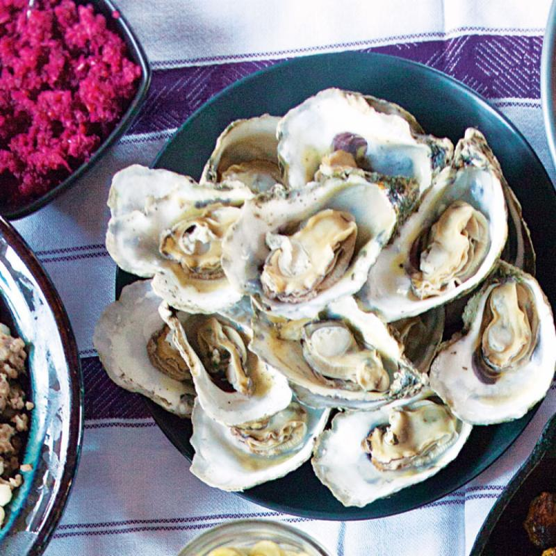 Tgiving Oysters