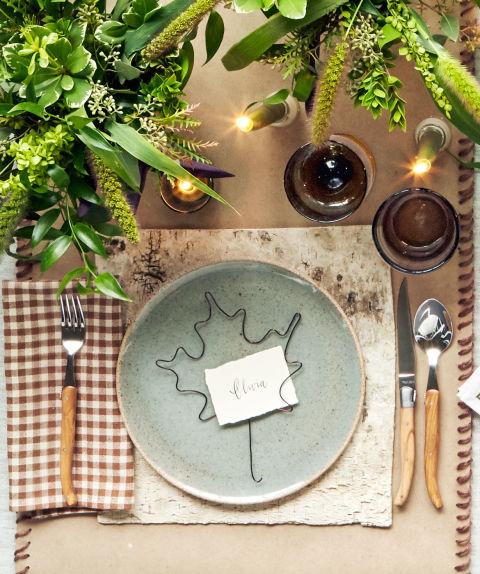Tgiving Table set