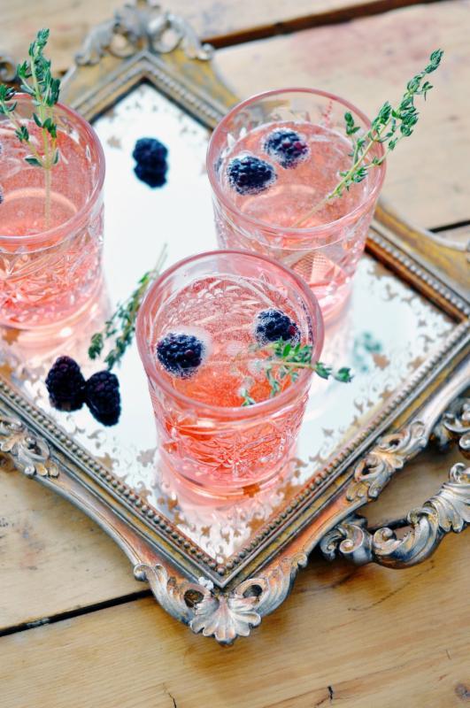 Blackberry Spring drinks