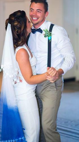 Fake Wedding Couple