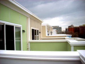 Capitol Quarter Townhouses are LEED certified