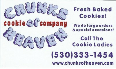 Chunks of Heaven Ad