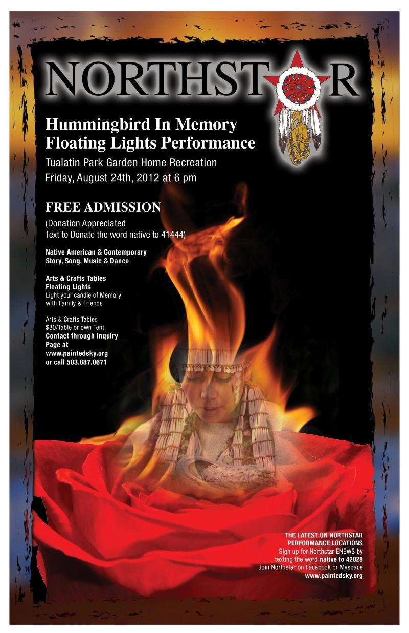 2012 Hummingbird Poster