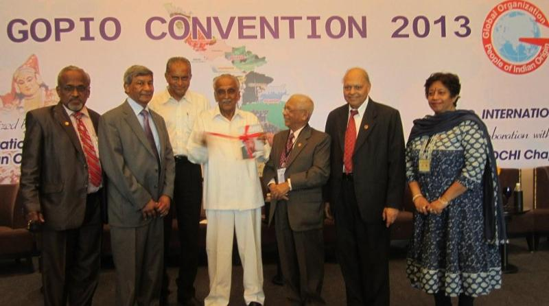 GOPIO Convention Inaugural Session and Book Release by Gov. M.M. Jacob