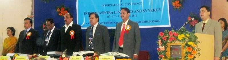 GOPIO-Gujarat Univ. Indian Diaspora Conf. Inauguration