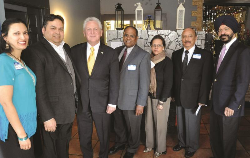 GOPIO-CT Reception with Norwalk Mayor Harry Rilling
