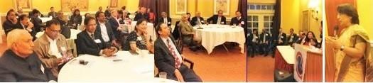 GOPIO-CT Recepption.Dinner with Ambassador Riva GangulyDas