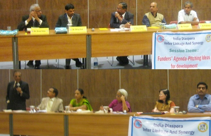 GOPIO-Gujarat Univ. Conf. - Sessions on Funders' Agenda