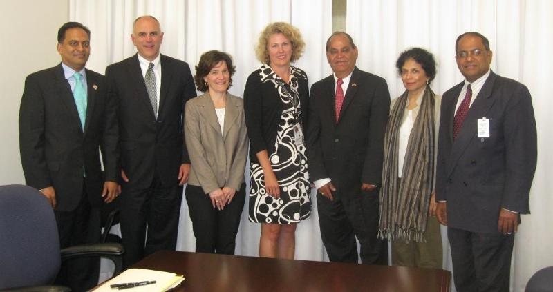 Indian Anerican community representatives with US IRS Officials