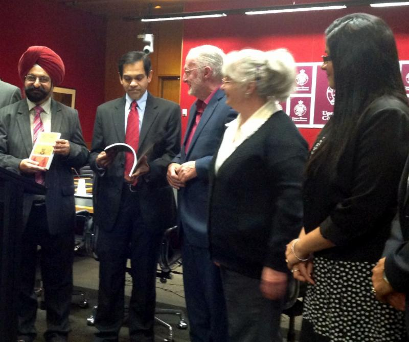 Book on Indian Arrival Released in Australian Parliament
