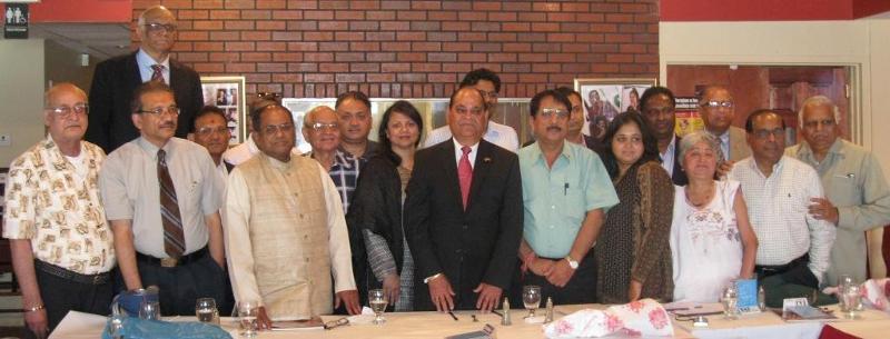 NFIA Organizes reception for Raj Purohit
