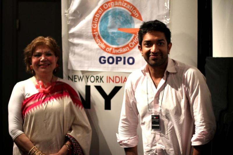 GOPIO Cultural Council joins hands with IAAC, Director Prashant Nair with Dr. Najma Sultana