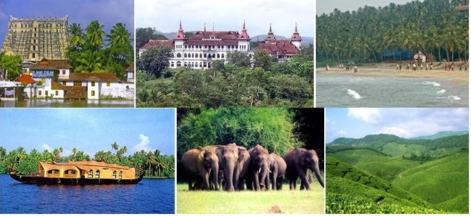 Toursit Spots of Kerala