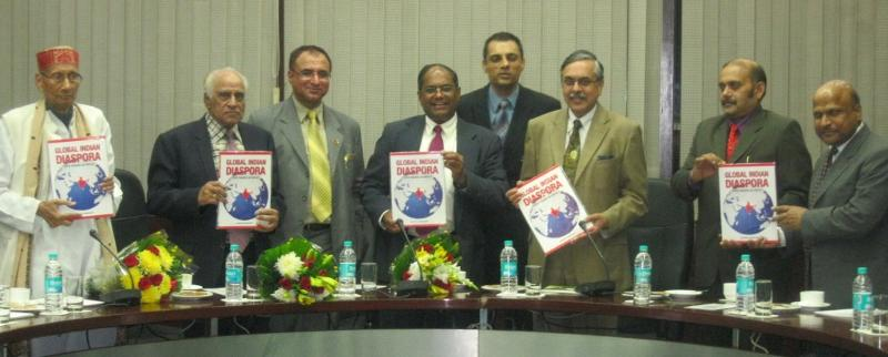 Book on Global Indian Diaspora - GOPIO Making an Impact released in New Delhi