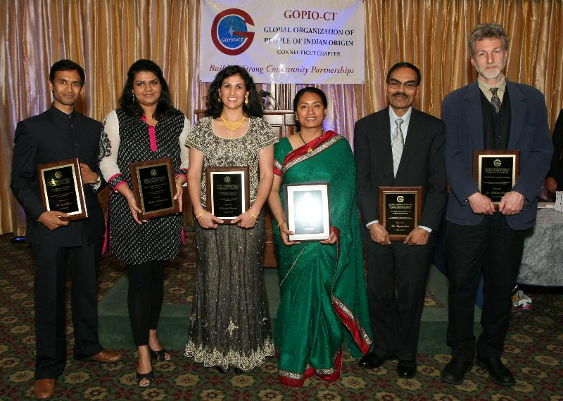 GOPIO-CT Award Recipients for 2012