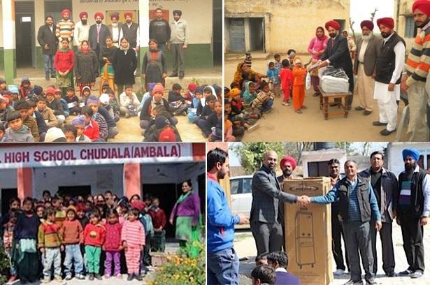 GOPIO-Sydney Northwest helping school children in India