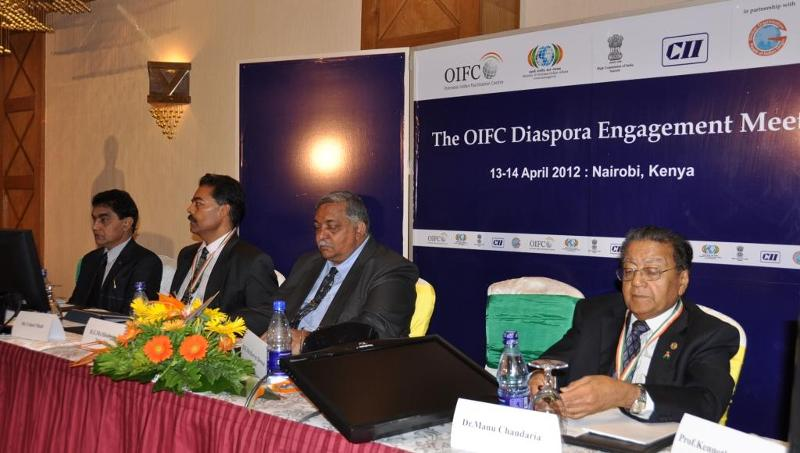 OIFC Diaspora Engagement meet in Nairobi