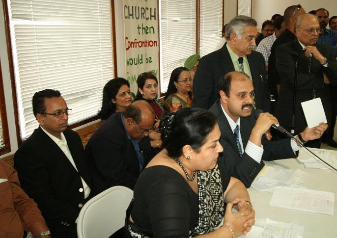 Indian Consulate San FRancisco Officials at the GOPIO Meeting