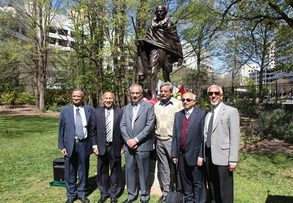 GOPIO-Canberra Officials with Amb.Biren Nanda