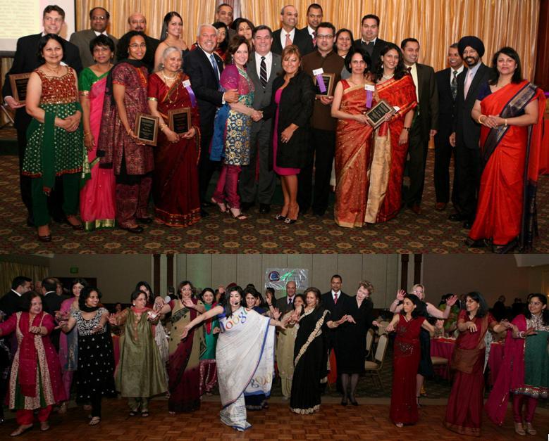 GOPIO-CT Officials, Dignitaries, Award Recipients at Awards 2011