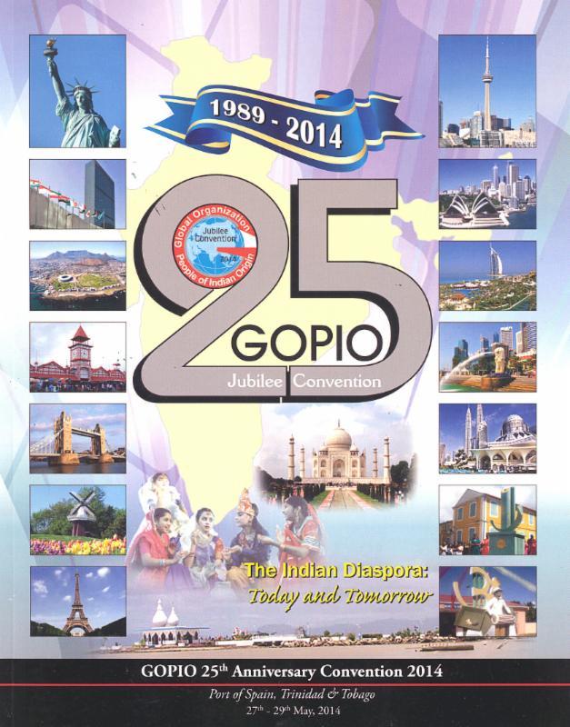 GOPIO Jubilee Convention 2014 - Souvenir Brochure