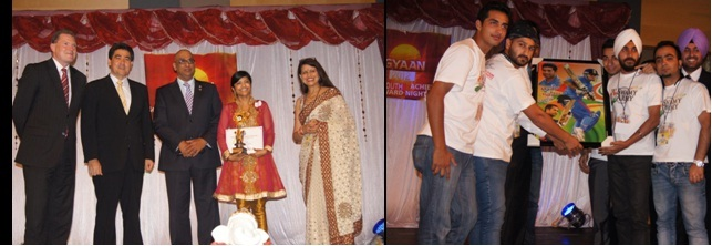 GOPIO Sydney Gyan 2012 Awardees and Dignitaries