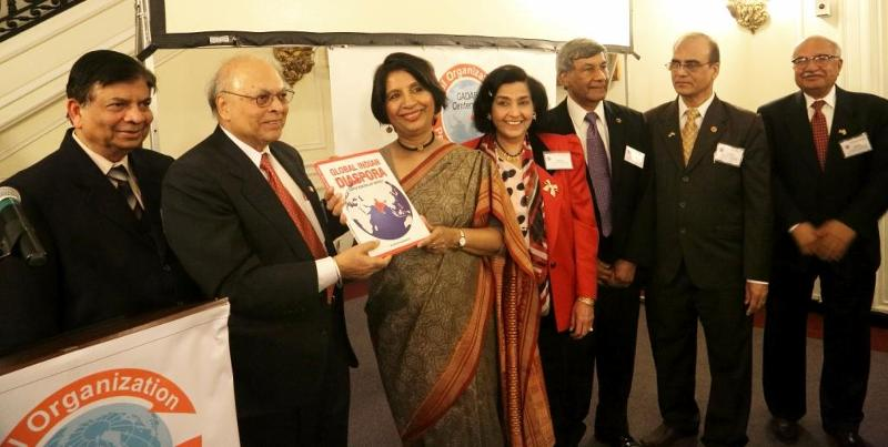GOPIO Coffee Table Book Global Indian Diaspora released in Washington DC