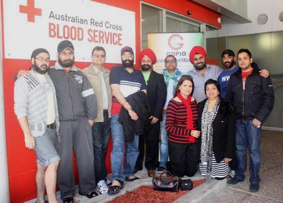 GOPIO Sydney Blood Drive