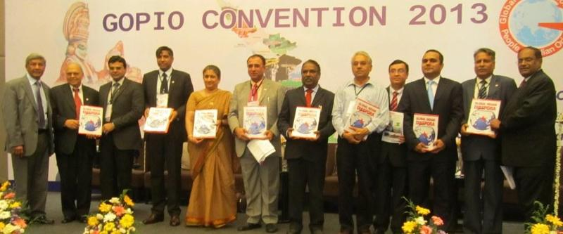 Speakers at the Session on Diaspora and Investment in India at GOPIO Conv. 2013