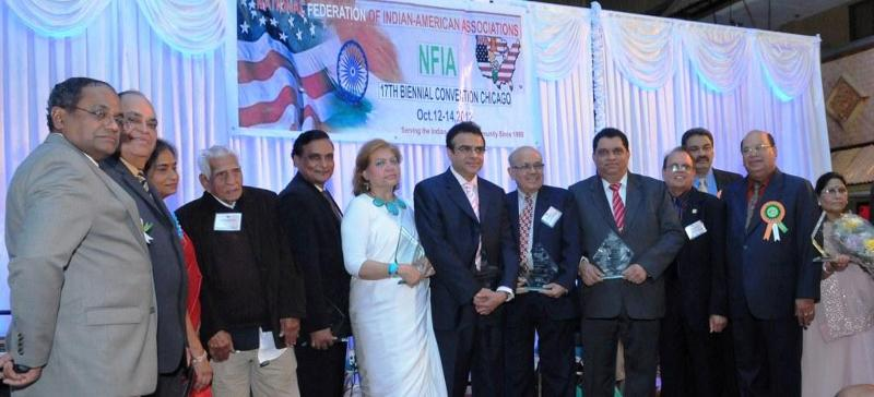 NFIA Award Recipients with Officers