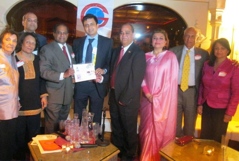 GOPIO Life members with State Department official Mitul Desai