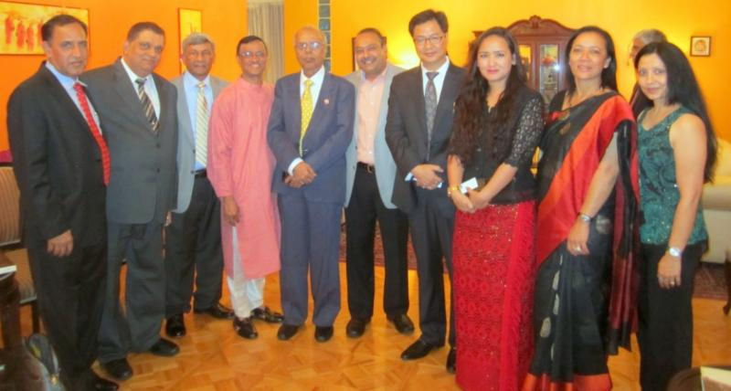 Minister of State for Home Affairs at the Indian Consulate Dinner in New York