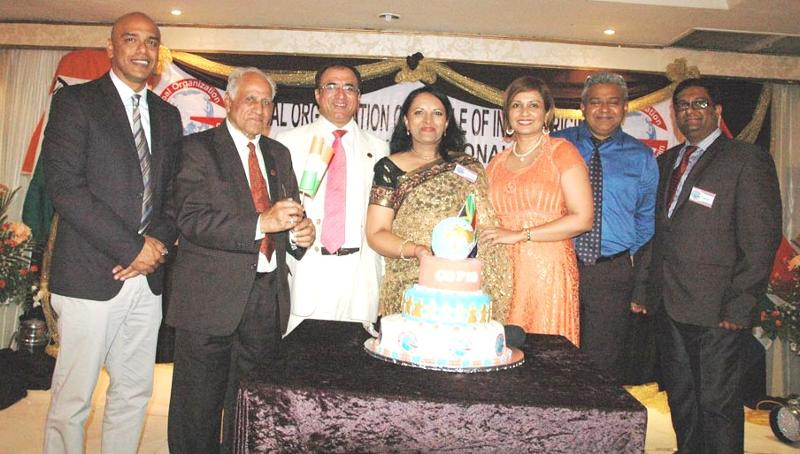 GOPIO-Durban Launch with Cake Cutting on April 28, 2013, April