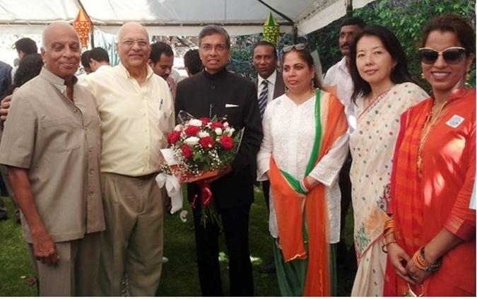 GOPIO-Tel Aviv Celebrates India Independence Day with Ambassador  Jaideep Sarkar