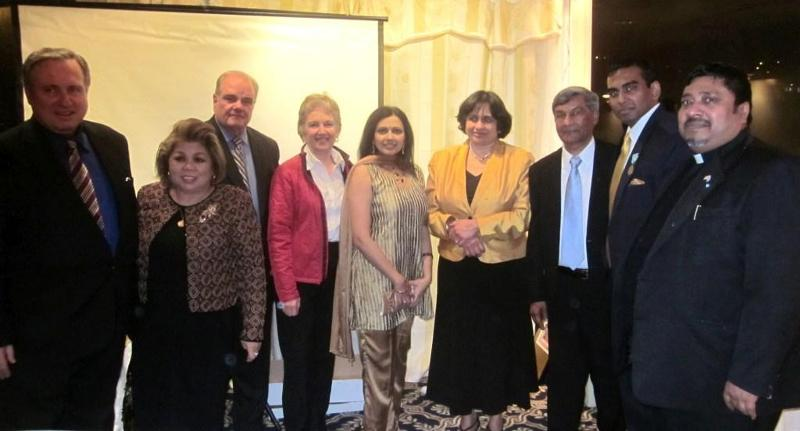 GOPIO Exec. VP Ashook Ramsaran honored in New York