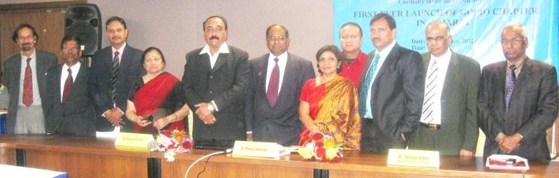 GOPIO-Ahmedabad Launch at Gujarat University on Jan.11, 2012