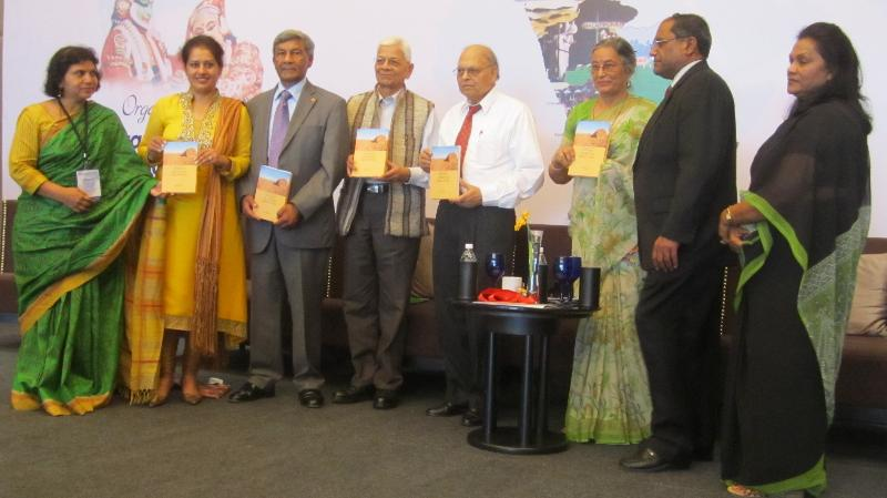 GOPIO.Gujarat Univ. Conf Proceedings presented to GOPIO Gadar Panel at GOPIO Conv. 2013 in Kochi