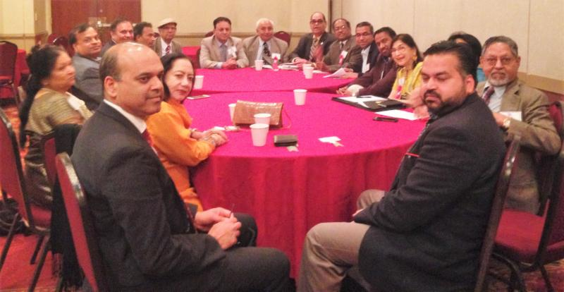 GOPIO Convention 2016 Round Table Meeting held on May 22nd in East Hanover, New Jersey