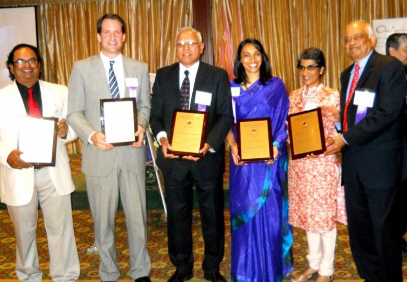 GOPIO-CT 2014 Awardees with Plaques